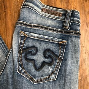 Re Rock for express boot cut jeans